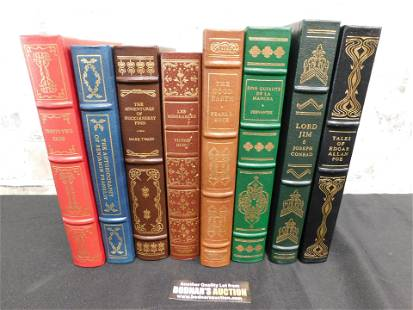Lot of 8 Franklin Library Books