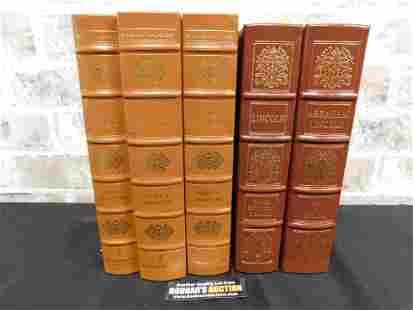 Lot of 5 Easton Press Books