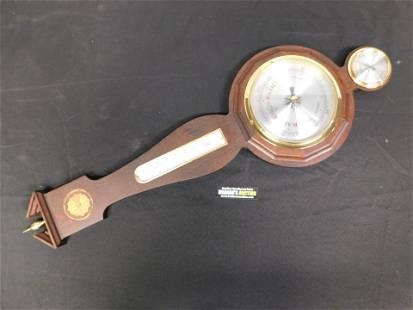German Wall Barometer with Inlay