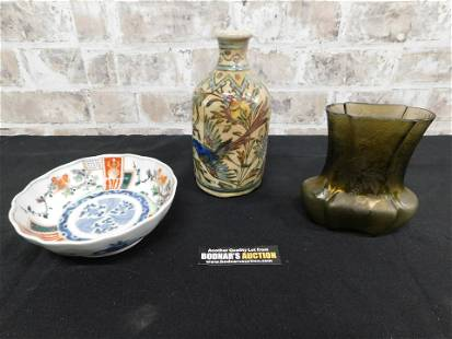 Group Lot of with Pottery and Canton ware