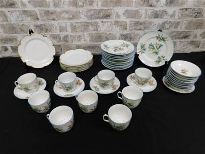 Box Lot of Dishes including Limoges