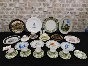 Large Lot of Porcelain - Staffordshire and More