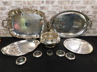 Lot of Silverplate and Sterling Silver