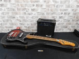 Diasonic Electric Guitar with Amp