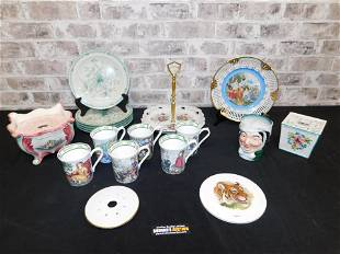 Lot of Porcelain including Noritake Salad Plates and