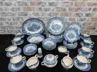 Salem China Co. Olde Staffordshire English Village