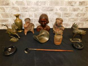 Lot of Antiquities and Figurines