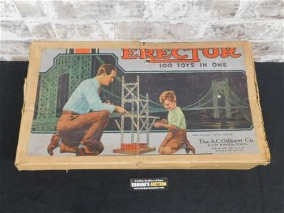 AC Gilbert Company Erector Set