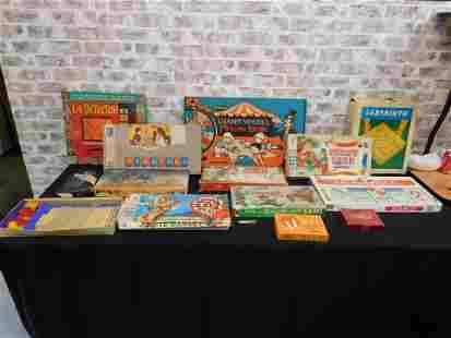 Large Lot of Vintage Games
