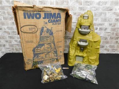 Marx Famous WWII Battle Iwo Jima Playset