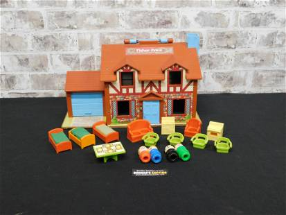 Vintage Fisher Playset House #952