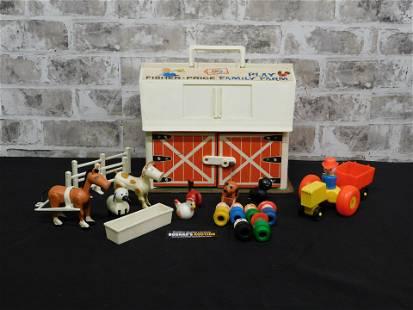 Vintage Fisher Price Family Play Farm