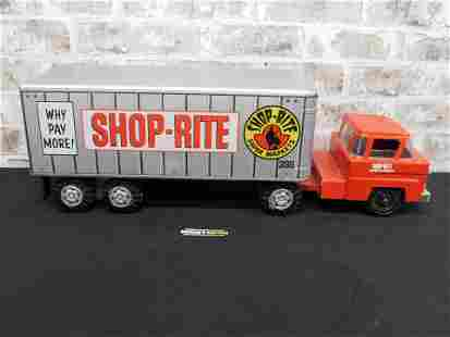 Marx Tin Plated Vintage Shop-Rite Tractor Trailer