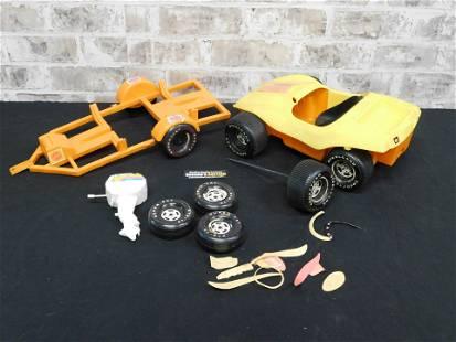 Mattel Barbie Dune Buggy with Trailer