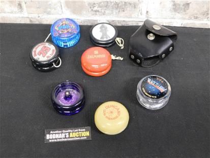 Group Lot of Vintage Yo-Yo's