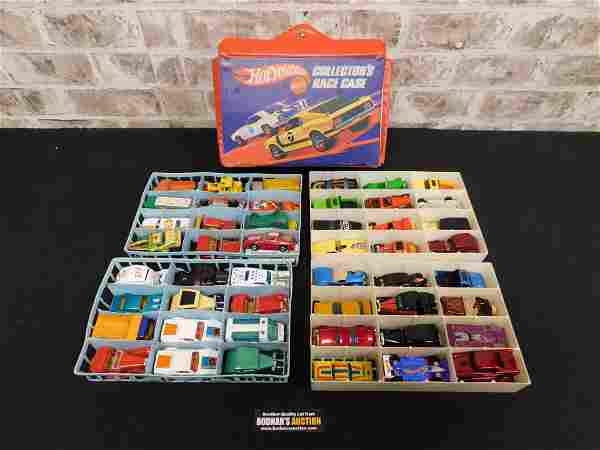 Case Lot of Vintage Hot Wheels and Matchbox Cars