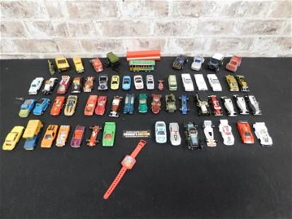 Lot of Vintage Cars including Red Lines