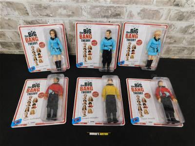 Star Trek Big Bang Theory Action Figure Lot of 6