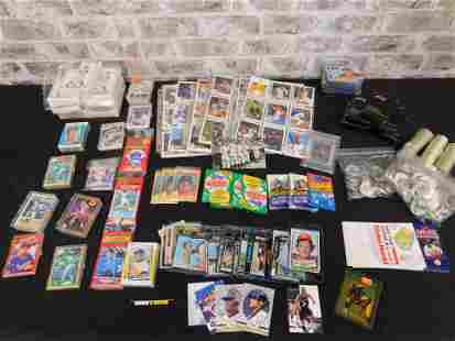 Mixed Sports Cards Lot