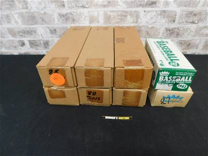 Lot of Mostly Factory Sealed Baseball Cards - 80's