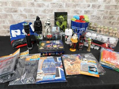 Lot of Star Wars Novelty Items