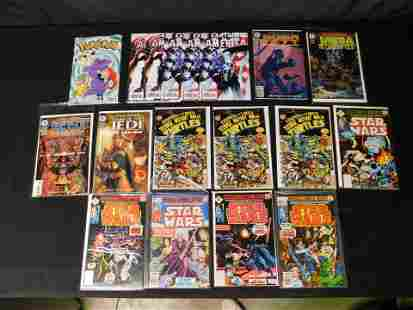 Lot of Mixed Comics including Star Wars