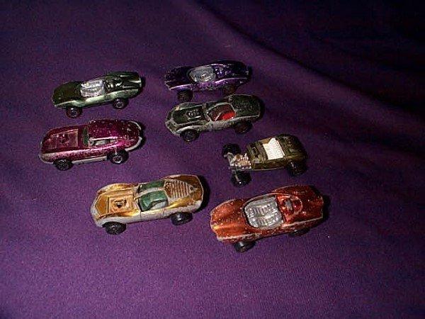 15: Lot of 7 Johnny Lightning Topper Cars. Including Cu