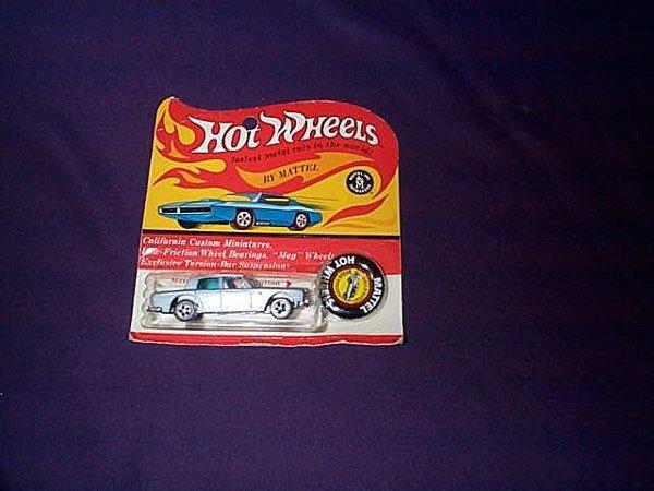 """21: Hot Wheels Redline Car """"Rolls Royce Silver Shadow"""""""