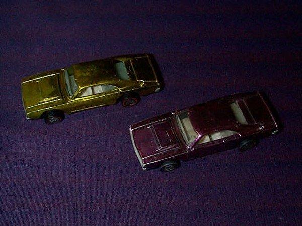 "23: Lot of 2 Hot Wheels Redline ""Custom Dodge Charger"""