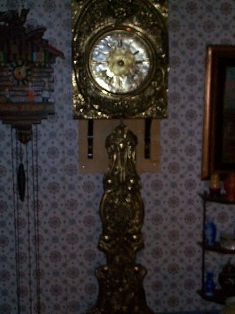 """6: French Grandfather clock """"Wag on the Wall"""" Clock its"""