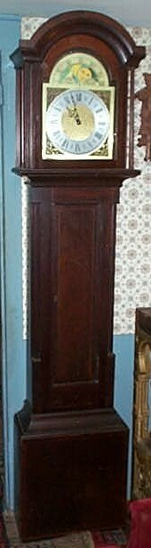 10: 19th Century Grandfather clock case attributed to N