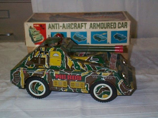 410: Chinese Battery Op Anti-Aircraft Armored Car, Auto