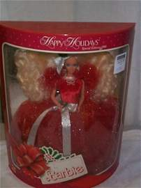477: Happy Holidays Special Edition 1988 Barbie Doll, m