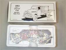 600: First Gear Diecast Collectible 1951 Ford F-6 Half
