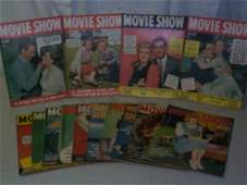 142: Movie Show Magazine 1942-43. Lot of 14. Lot includ