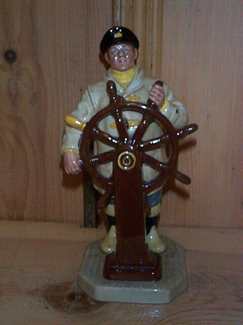 13: Royal Doulton figurine The Helmsman HN 2499, measur