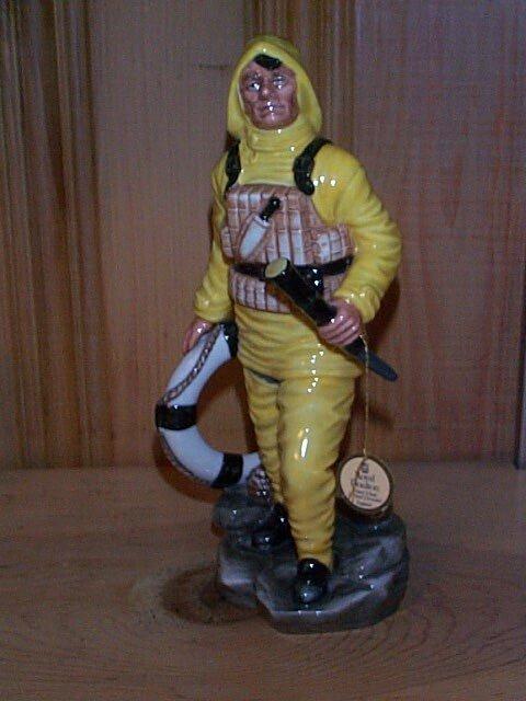 19: Royal Doulton figurine The Lifeboat Man HN 2764, me