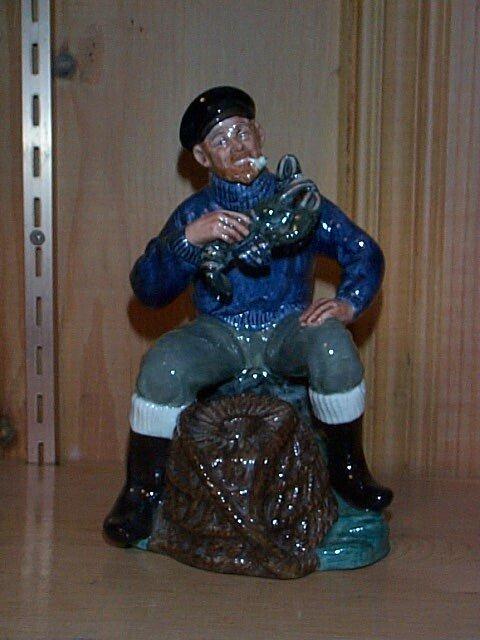 22: Royal Doulton figurine The Lobster Man HN 2317, mea