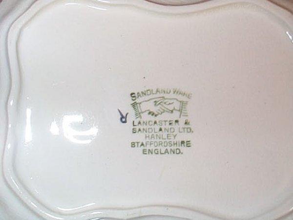 148: Sandland Ware Staffordshire England Covered Cheese - 2