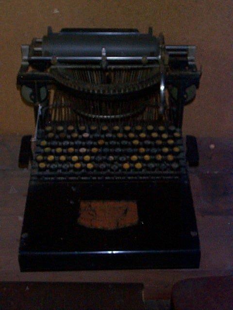 1000: 1883 The Caligraph #2 Typewriter, Manuf. by Ameri