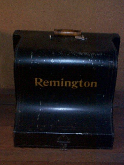 1002: Remington Standard Typewriter #6; Manuf. by Wycko