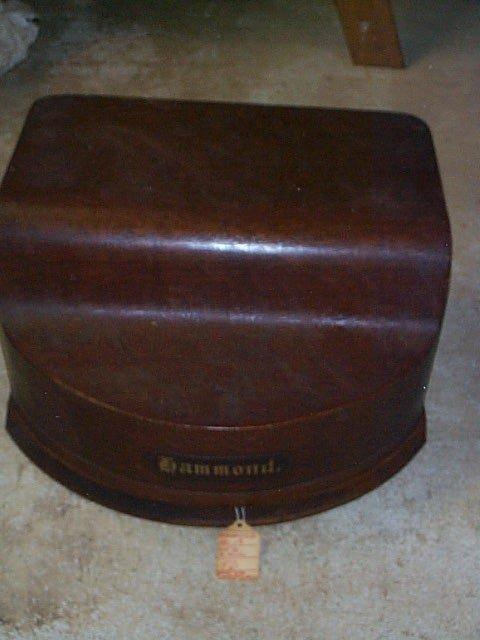 1010: Hammond #12 Typewriter, Patent 1880, made in New