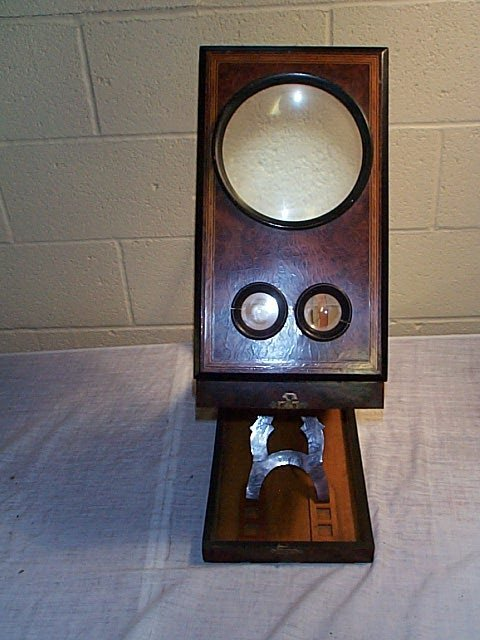 1078: French Combination Viewer and Stereo Scope. In Bu