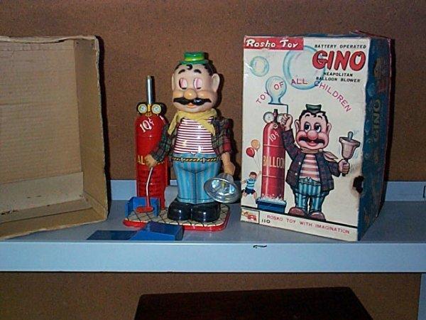 1502: Rosko Toy Battery Operated Gino, Neapolitan Ballo