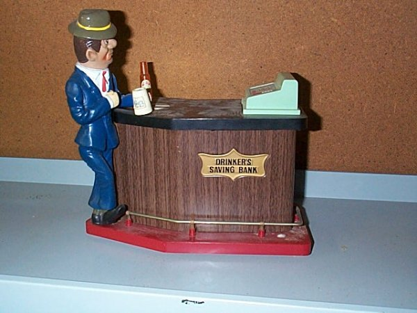 1521: Battery Operated Drinkers Savings Bank. Buyer to