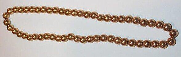 10: 10K Bead Necklace