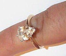 18: 14K Diamond Engagement Ring