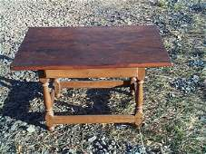 221: Late 18th, Early 19th Century Walnut 1 drawer Will