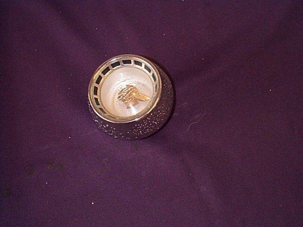 1023: Pontiac Indian Logo Vintage Hood Piece. Measures