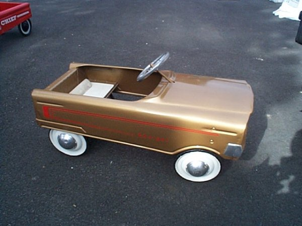 1045 Early 1960 S Murray Charger Pedal Car Has Been R